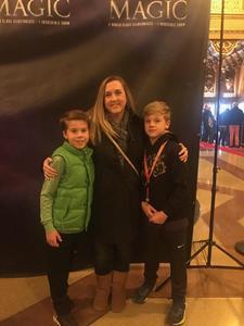 Joshua attended Champions of Magic - Magic on Nov 3rd 2018 via VetTix