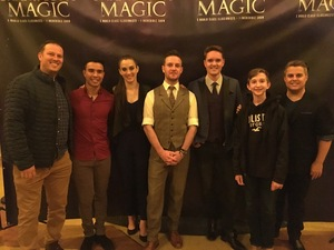 Christopher attended Champions of Magic - Magic on Nov 3rd 2018 via VetTix