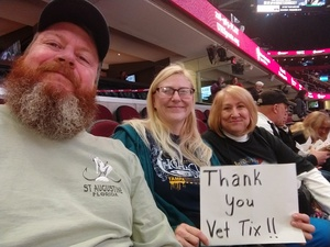 Jackie attended Cleveland Monsters vs. Grand Rapids Griffins - AHL on Nov 4th 2018 via VetTix