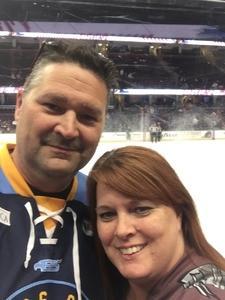 Lillie attended Cleveland Monsters vs. Grand Rapids Griffins - AHL on Nov 4th 2018 via VetTix
