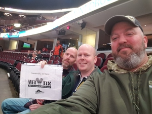 Anthony attended Cleveland Monsters vs. Grand Rapids Griffins - AHL on Nov 4th 2018 via VetTix