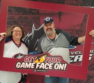 David attended Cleveland Monsters vs. Grand Rapids Griffins - AHL on Nov 4th 2018 via VetTix