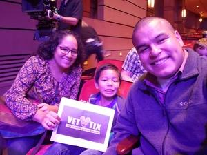 DAVID attended Sesame Street Live! Make Your Magic - Early Performance on Oct 28th 2018 via VetTix