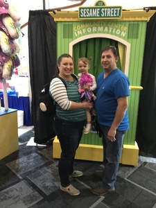 Jeremy attended Sesame Street Live! Make Your Magic - Early Performance on Oct 28th 2018 via VetTix