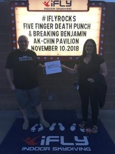Click To Read More Feedback from 98kupd Presents Five Finger Death Punch and Breaking Benjamin - Heavy Metal