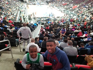 Demetrius attended Detroit Pistons vs. Miami Heat - NBA - Hoops for Troops Night! on Nov 5th 2018 via VetTix