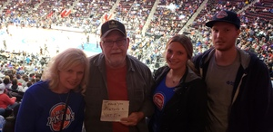 Al Basil attended Detroit Pistons vs. Miami Heat - NBA - Hoops for Troops Night! on Nov 5th 2018 via VetTix