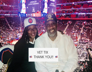 Stacey attended Detroit Pistons vs. Miami Heat - NBA - Hoops for Troops Night! on Nov 5th 2018 via VetTix