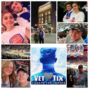 Jodi attended Detroit Pistons vs. Miami Heat - NBA - Hoops for Troops Night! on Nov 5th 2018 via VetTix