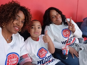 Kimm attended Detroit Pistons vs. Miami Heat - NBA - Hoops for Troops Night! on Nov 5th 2018 via VetTix