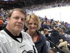 Edward attended Jacksonville Icemen vs. Newfoundland Growlers - ECHL on Nov 21st 2018 via VetTix