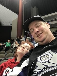 Stephen attended Jacksonville Icemen vs. Newfoundland Growlers - ECHL on Nov 21st 2018 via VetTix