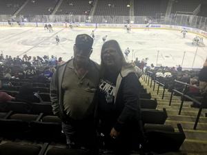 Salvatore attended Jacksonville Icemen vs. Newfoundland Growlers - ECHL on Nov 21st 2018 via VetTix