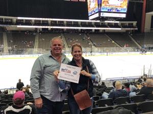 Arthur attended Jacksonville Icemen vs. Newfoundland Growlers - ECHL on Nov 21st 2018 via VetTix