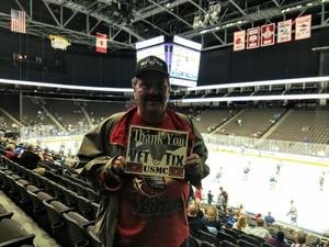 Thomas Ferry attended Jacksonville Icemen vs. Newfoundland Growlers - ECHL on Nov 21st 2018 via VetTix