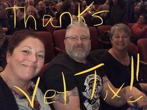 Andrew attended Paramount Hudson Valley Theater - Boz Scaggs on Nov 11th 2018 via VetTix
