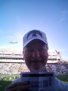 Frank attended Arizona State Sun Devils vs Utah - NCAA Football on Nov 3rd 2018 via VetTix