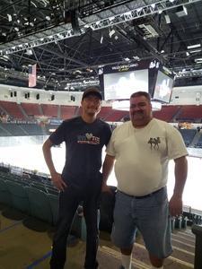 Chanthorn attended San Diego Gulls vs. Colorado Eagles - AHL on Nov 10th 2018 via VetTix