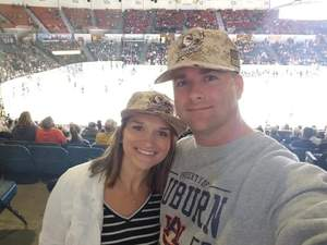 Rachael attended San Diego Gulls vs. Colorado Eagles - AHL on Nov 10th 2018 via VetTix