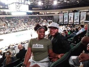 ToneiB attended Texas Legends vs. Austin Spurs - Championship Celebration - Free Ring - NBA G-league Basketball on Nov 3rd 2018 via VetTix