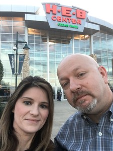 James attended Texas Legends vs. Austin Spurs - Championship Celebration - Free Ring - NBA G-league Basketball on Nov 3rd 2018 via VetTix