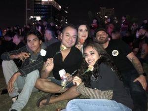 Shaun attended Dia De Los Deftones - Heavy Metal on Nov 3rd 2018 via VetTix