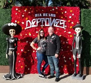paul attended Dia De Los Deftones - Heavy Metal on Nov 3rd 2018 via VetTix