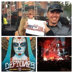 Jason attended Dia De Los Deftones - Heavy Metal on Nov 3rd 2018 via VetTix