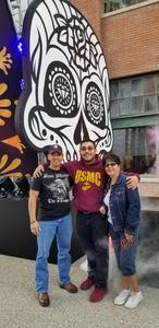 Alejandro attended Dia De Los Deftones - Heavy Metal on Nov 3rd 2018 via VetTix
