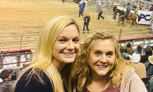 Jennifer attended American Finals Rodeo - Rodeo on Nov 10th 2018 via VetTix
