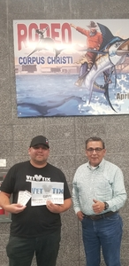 Augustine attended The Professional Bull Riders Velocity Tour on Dec 1st 2018 via VetTix