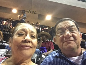 Guadalupe attended The Professional Bull Riders Velocity Tour on Dec 1st 2018 via VetTix