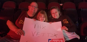 Tom attended Cleveland Cavaliers vs. Denver Nuggets - NBA on Nov 1st 2018 via VetTix