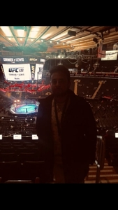 Jeffrey attended UFC 230 - Mixed Martial Arts on Nov 3rd 2018 via VetTix