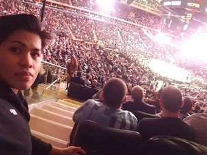 Racquel attended UFC 230 - Mixed Martial Arts on Nov 3rd 2018 via VetTix