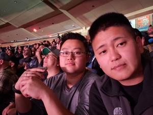 joongsuk attended UFC 230 - Mixed Martial Arts on Nov 3rd 2018 via VetTix