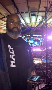 Jermaine attended UFC 230 - Mixed Martial Arts on Nov 3rd 2018 via VetTix