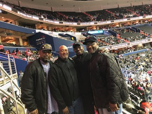 ROY attended Washington Wizards vs. Orlando Magic - NBA on Nov 12th 2018 via VetTix