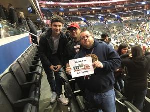 Jeff attended Washington Wizards vs. Orlando Magic - NBA on Nov 12th 2018 via VetTix