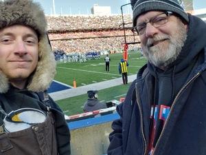 Joseph attended Buffalo Bills vs. New York Jets - NFL on Dec 9th 2018 via VetTix