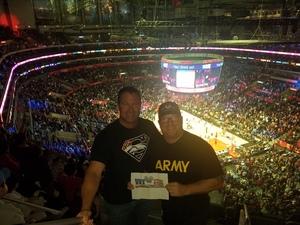 Joshua attended Los Angeles Clippers vs Minnesota Timberwolves - NBA - Military Monday on Nov 5th 2018 via VetTix