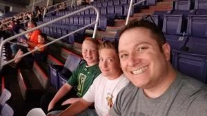 Justin, Hunter & Peter attended Phoenix Suns vs. Toronto Raptors - NBA on Nov 2nd 2018 via VetTix