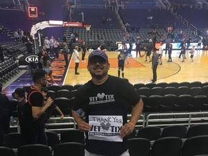 miguel attended Phoenix Suns vs. Toronto Raptors - NBA on Nov 2nd 2018 via VetTix