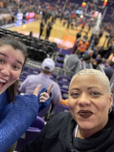 Ebonee attended Phoenix Suns vs. Toronto Raptors - NBA on Nov 2nd 2018 via VetTix