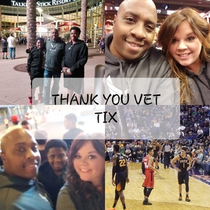 Rodrick attended Phoenix Suns vs. Toronto Raptors - NBA on Nov 2nd 2018 via VetTix