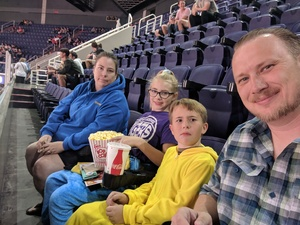 Dean attended Phoenix Suns vs. Toronto Raptors - NBA on Nov 2nd 2018 via VetTix