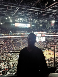 Burgess attended Phoenix Suns vs. Toronto Raptors - NBA on Nov 2nd 2018 via VetTix