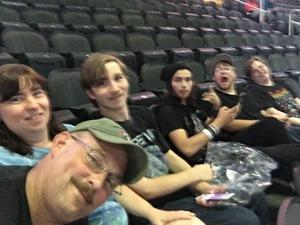 Jeff attended Lynyrd Skynyrd - Farewell Tour on Nov 2nd 2018 via VetTix
