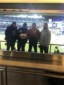 Oscar attended New York City FC vs. Atlanta United FC - Eastern Conference Finals - MLS on Nov 4th 2018 via VetTix