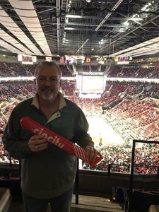 Rick Bennett attended Portland Trail Blazers vs. Minnesota Timberwolves - NBA on Nov 4th 2018 via VetTix